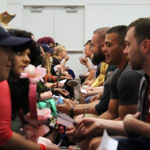speed dating at comic con