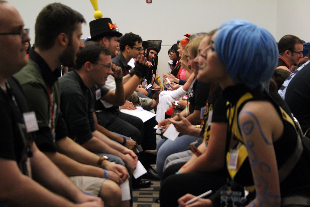 Geek love comic con speed dating