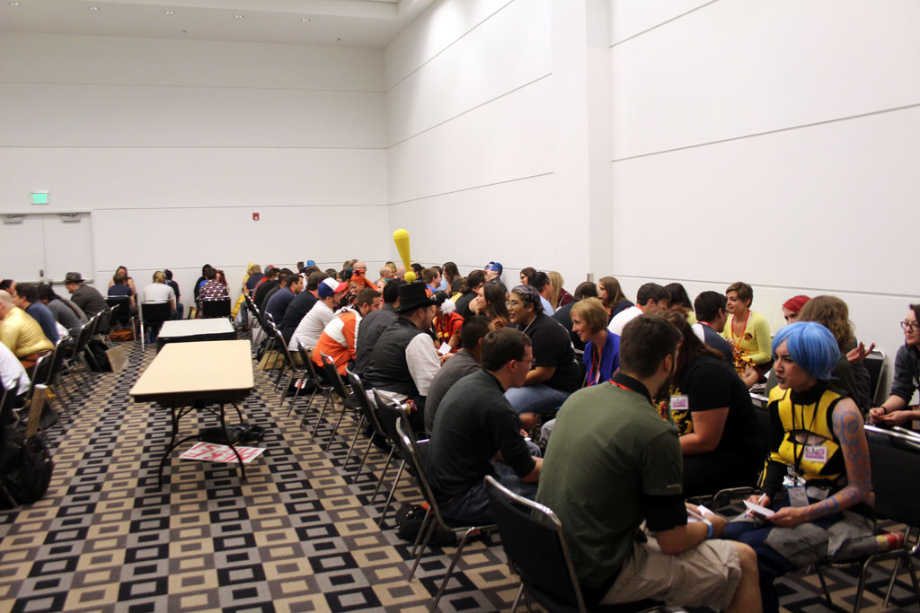 Sci fi speed dating awesome con