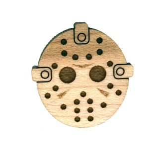 Hockey Mask Lapel Pin