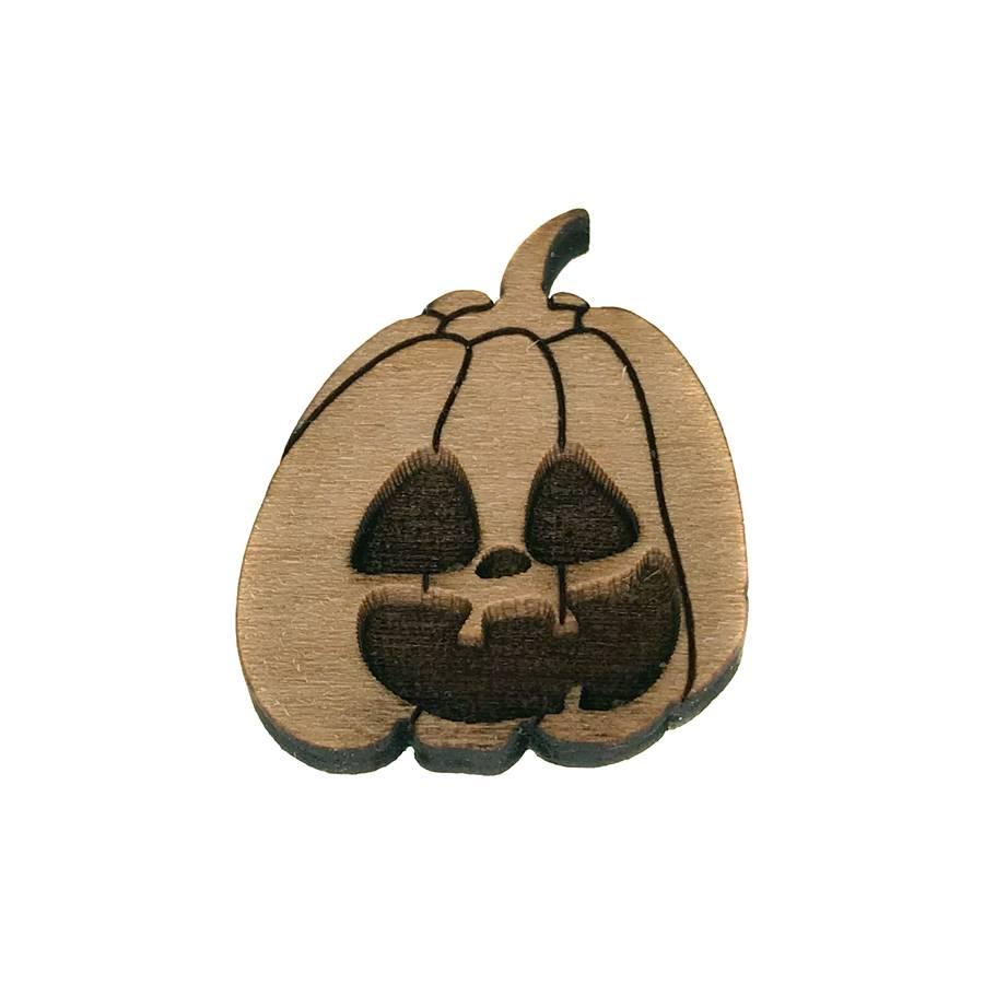 Jack-O-Lantern Lapel Pin