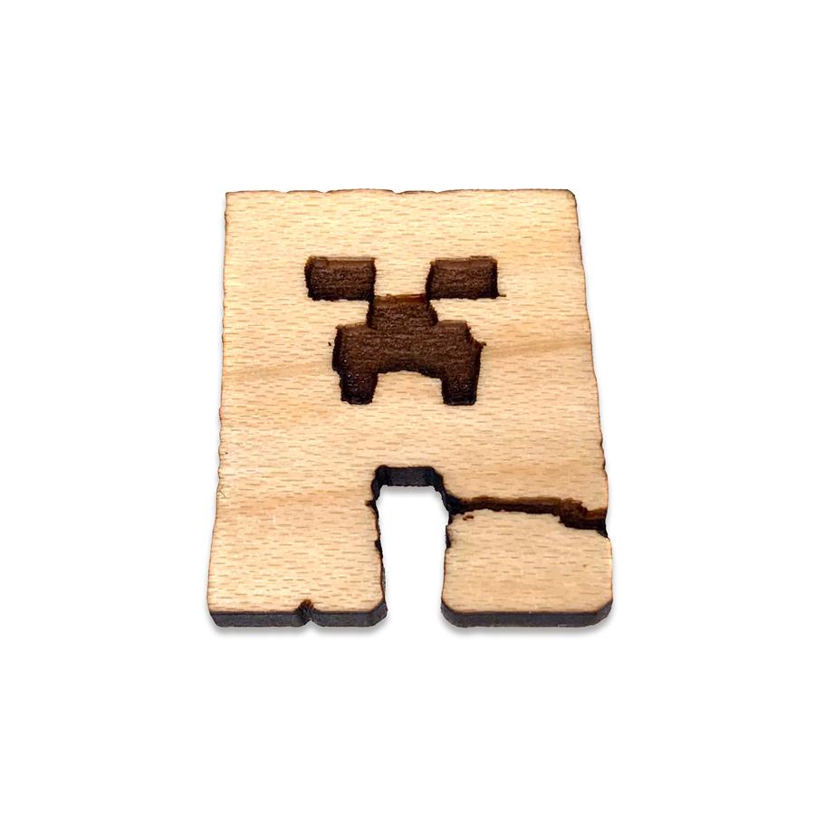 Minecraft Creeper Lapel Pin
