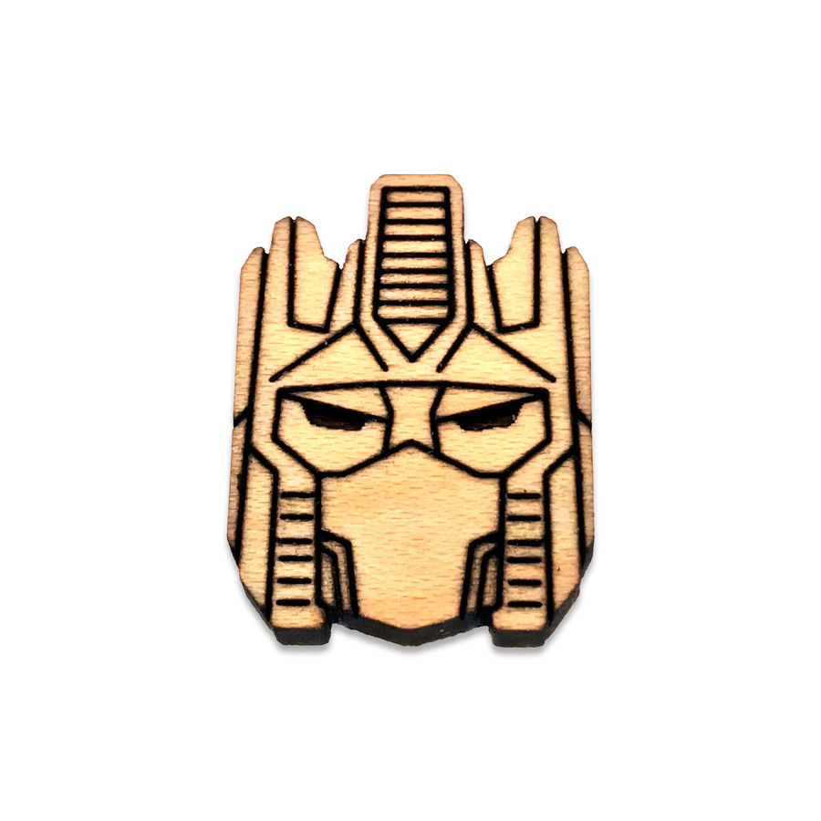 Optimus Prime Lapel Pin