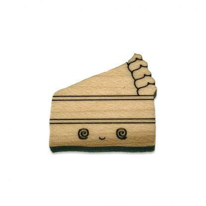 Piece of Cake Lapel Pin
