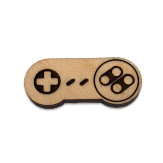 SNES Controller Lapel Pin