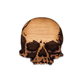 Human Skull lapel Pin
