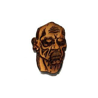 Zombie Lapel Pin Baldy