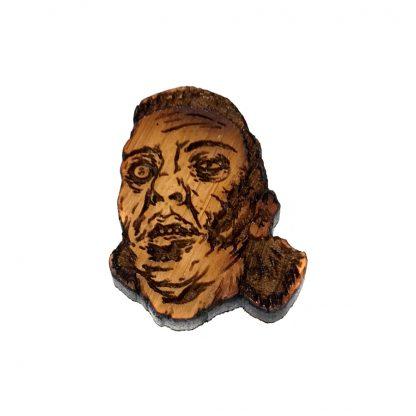 Zombie Lapel Pin Eugene