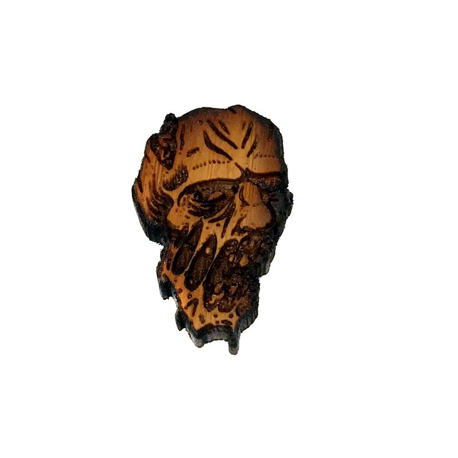 Zombie Lapel Pin - Mac