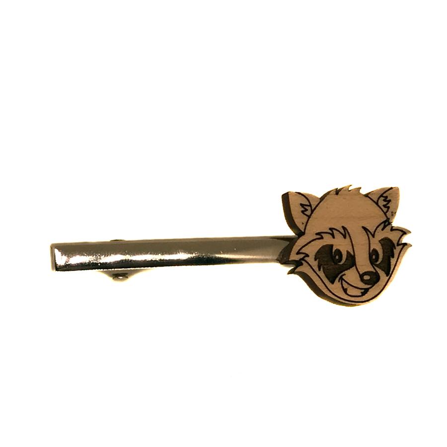 Rocket Raccoon Tie Clip Tie Pin