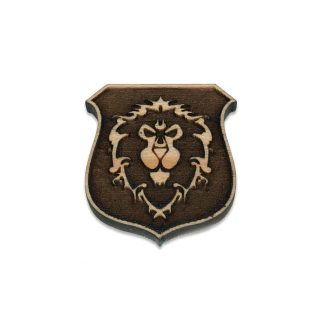 World of Warcraft Alliance Shield Lapel Pin