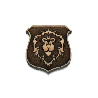 World of Warcraft Alliance Shield Lapel Pin