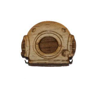 Diving Helmet Lapel Pin
