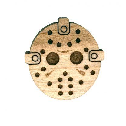 Hockey Mask Lapel Pin