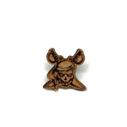 Jolly Roger Pirate Lapel Pin