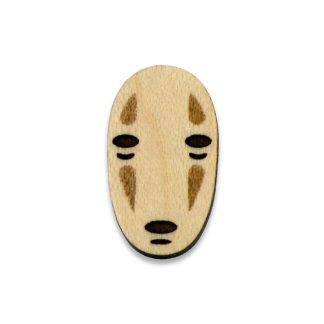 No Face Lapel Pin Spirited Away