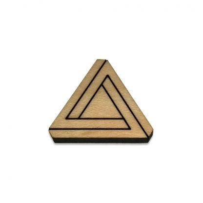 Penrose Triangle Lapel Pin